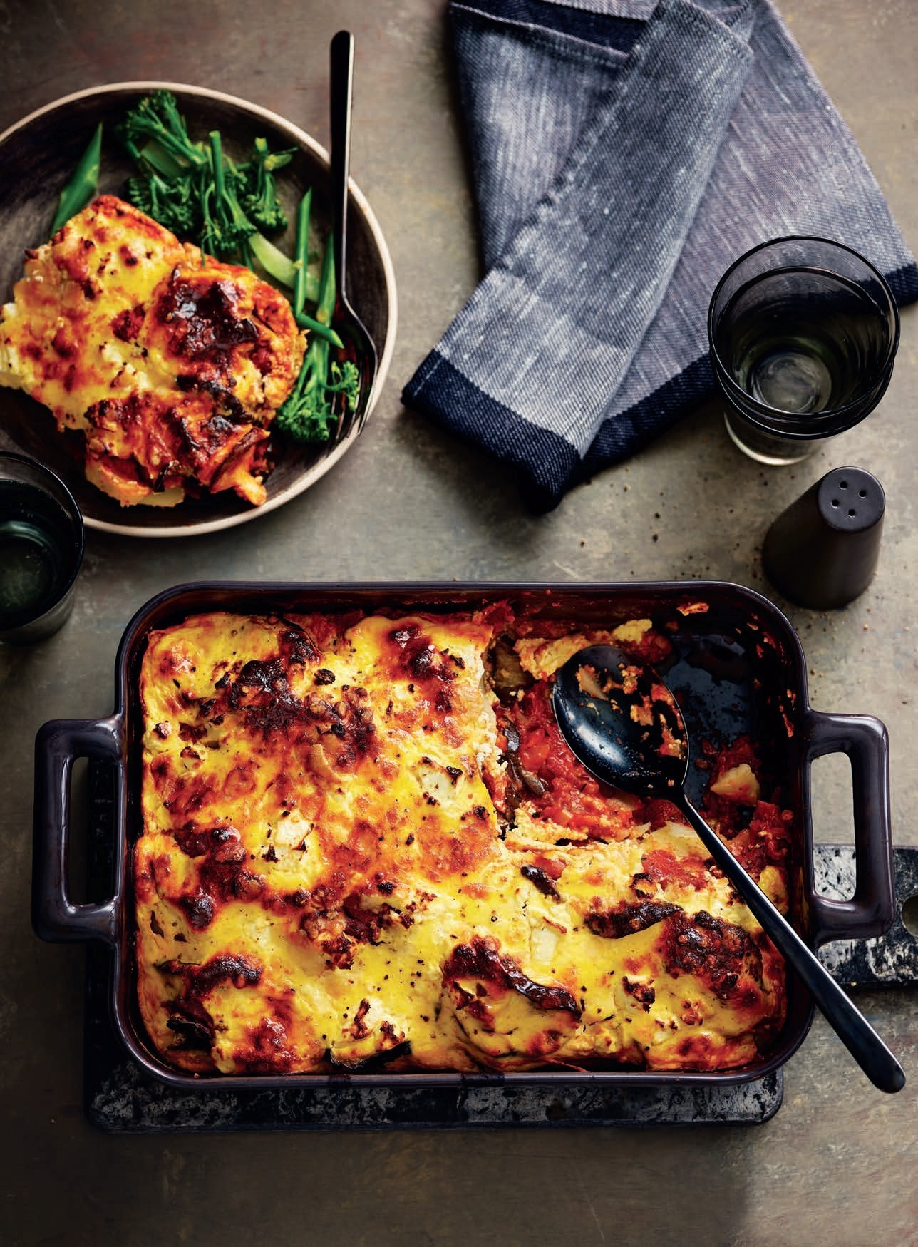 SW recipe: Vegetable moussaka
