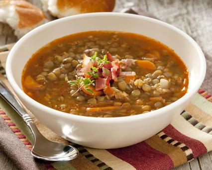 SW recipe: Lentil and bacon soup