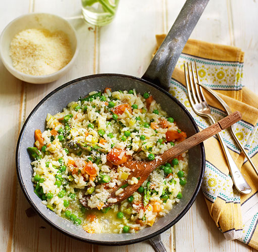 SW recipe: Sweet vegetable risotto