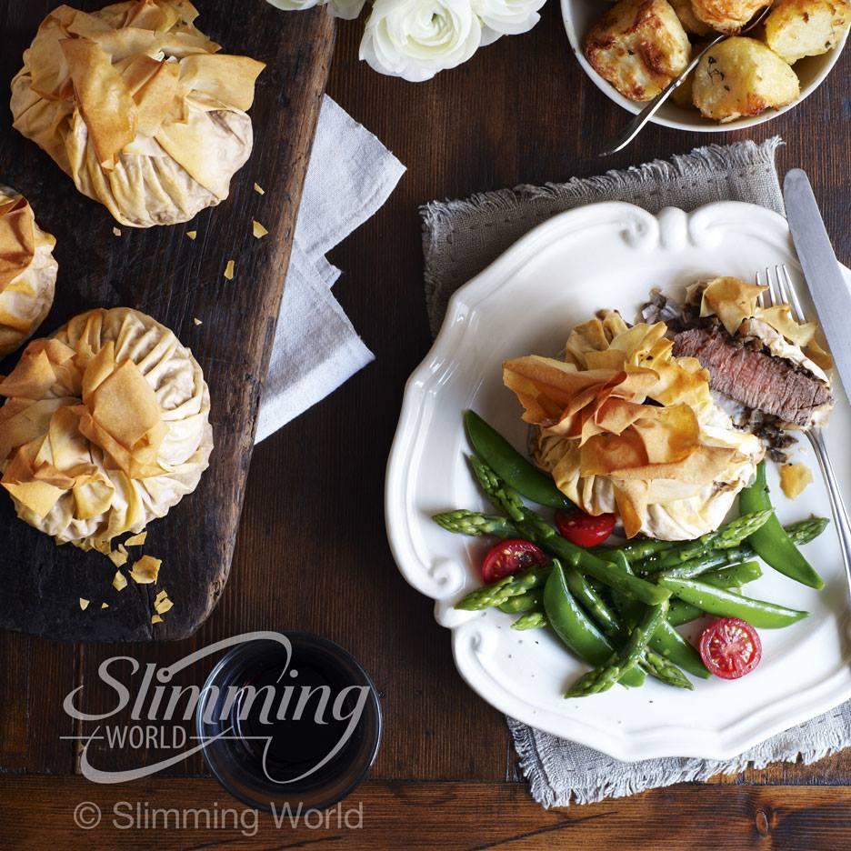 SW recipe: beef Wellingtons