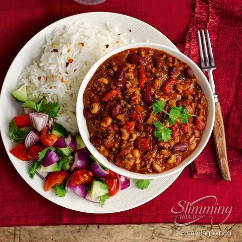 SW recipe: Beef and three-bean chilli