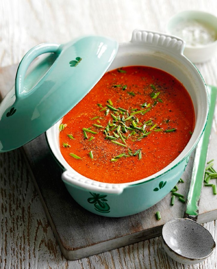 SW recipe: CREAMED CARROT & BEETROOT SOUP
