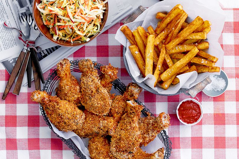SW recipe: Maryland chicken with fries and slaw