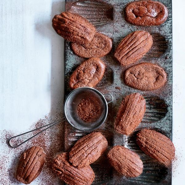 SW recipe: Chocolate madeleines