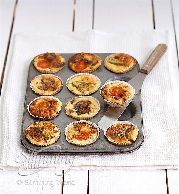 SW recipe: Mini quiche muffins