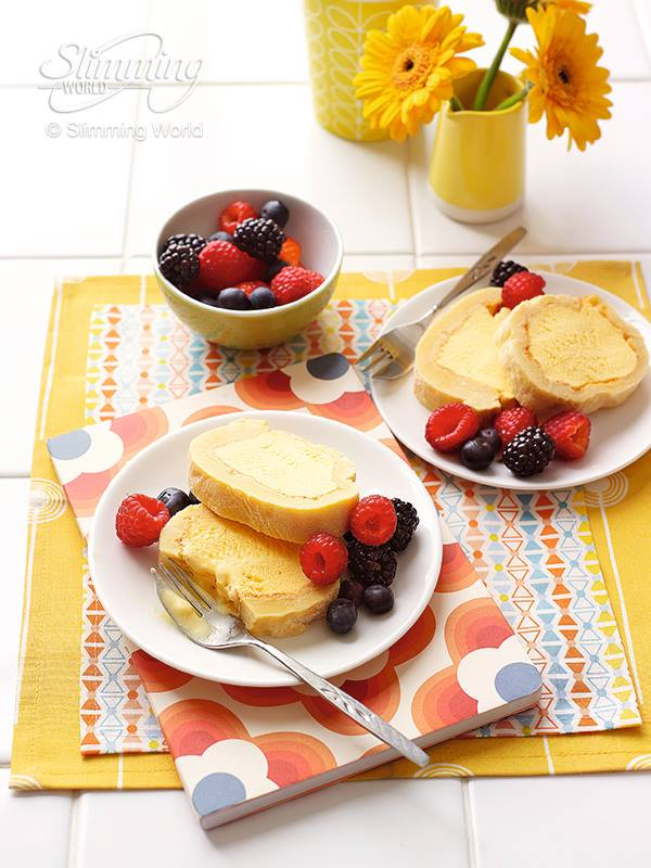 SW recipe: Arctic Roll with Summer Berries