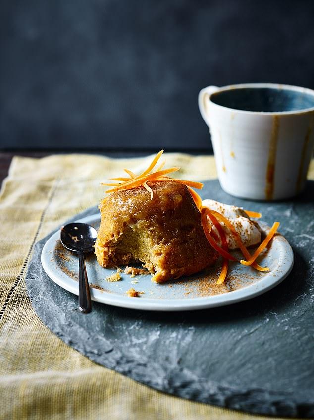 SW recipe: Carrot mug cake