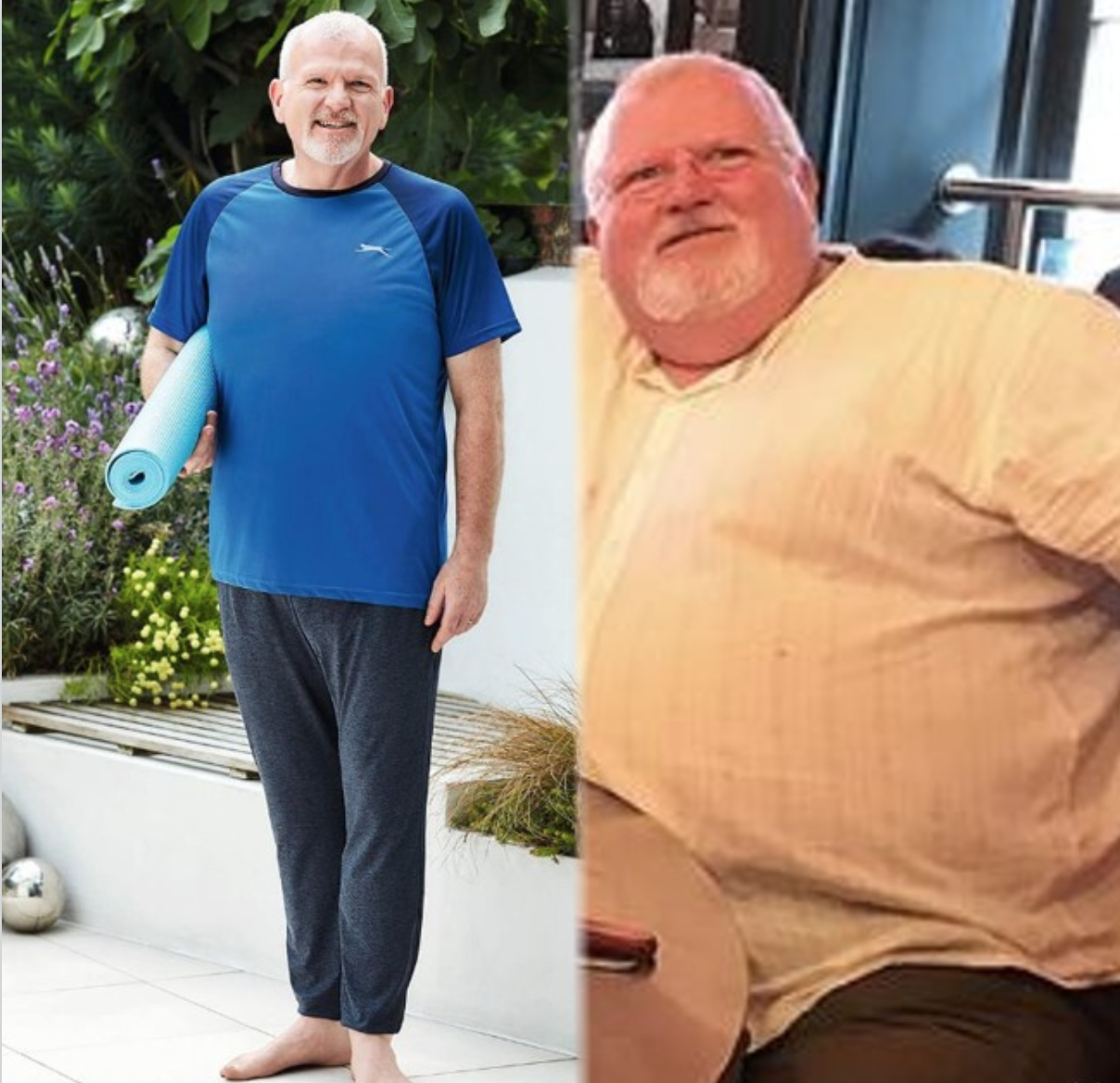 SW transformation story: 'I feel like a new man', he lost 9st 2lbs, rebuilt his confidence and found his balance