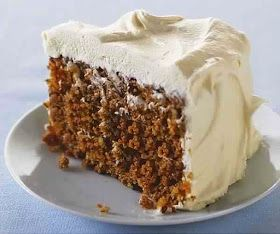 SW recipe: Creamy Pineapple Frosted Carrot Cake