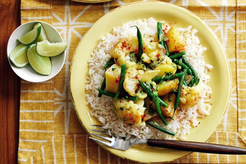 SW recipe: Aloo gobi with rice