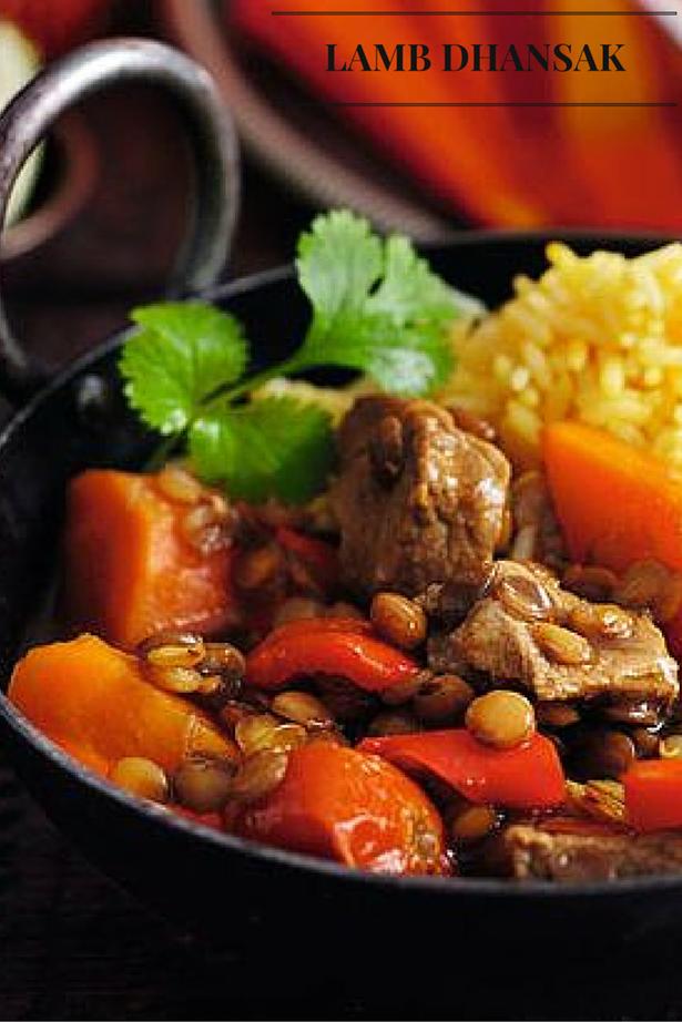 SW recipe: Lamb dhansak