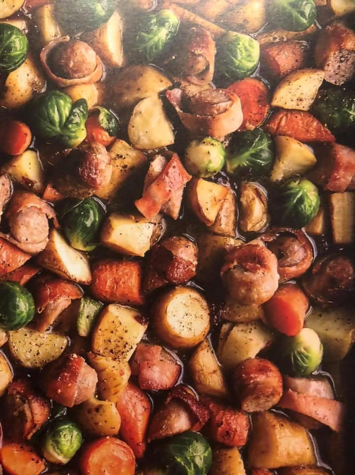 SW recipe: Sausage and vegetables traybake