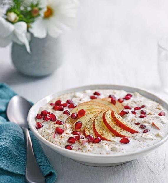 SW recipe: Apple & cinnamon overnight oats