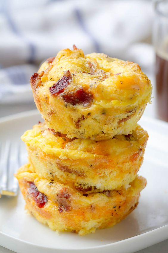 SW recipe: Egg and bacon muffins