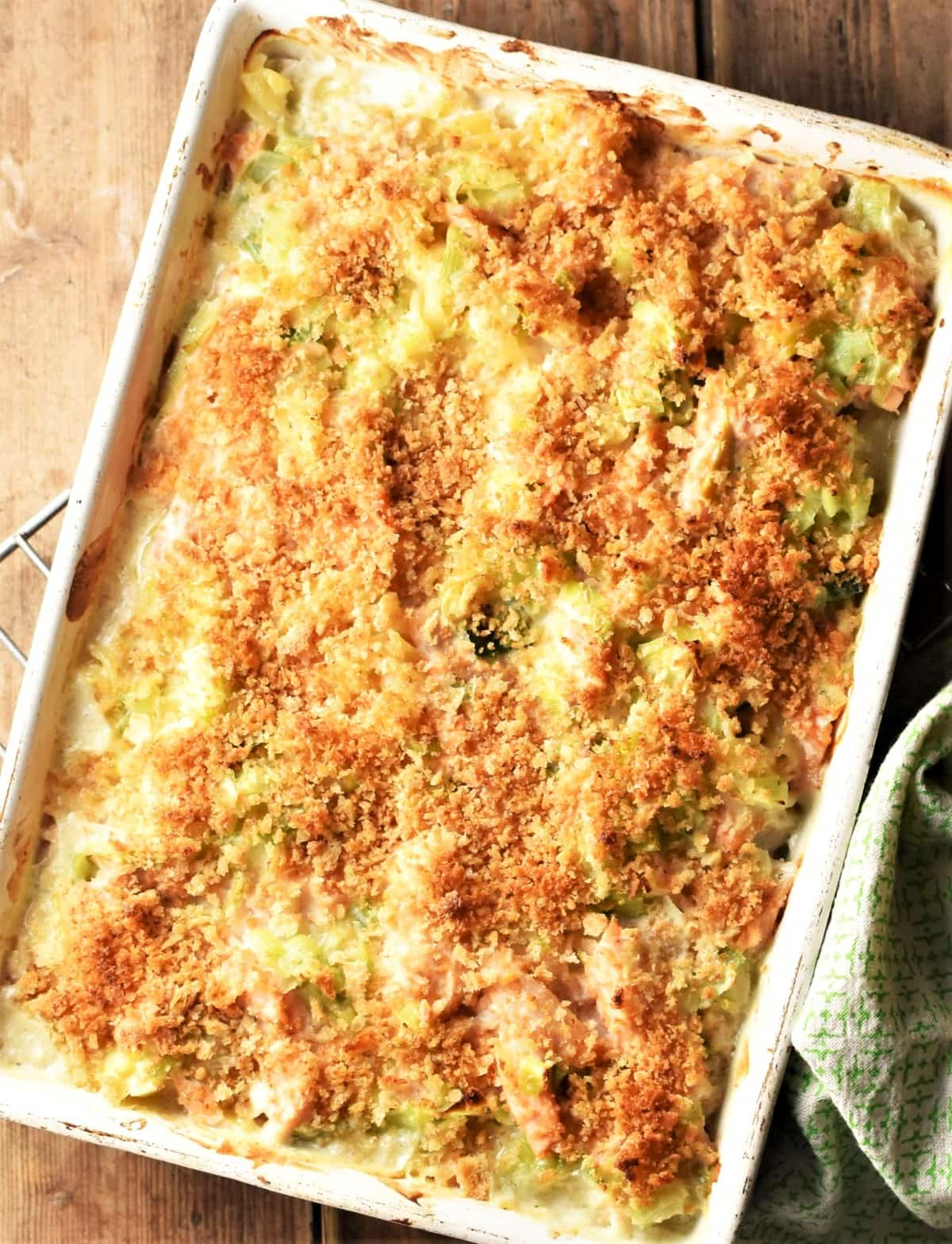 SW recipe: Salmon and Broccoli Bake