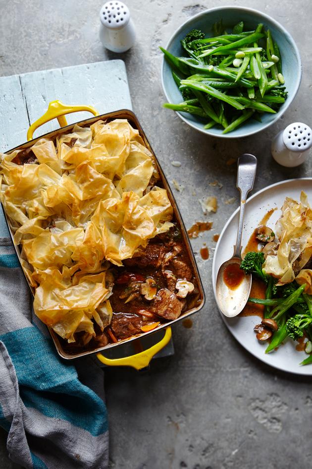 SW recipe: Beef and mushroom pie
