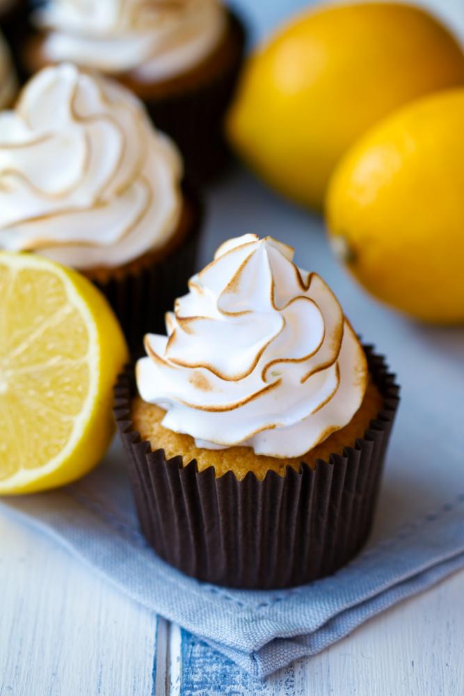 SW recipe: Lemony meringue cupcakes