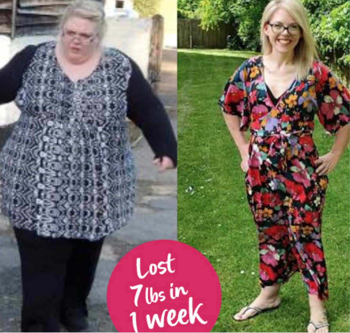 """SW transformation Story: """"I was convinced it wouldn't work… then I lost 7lbs in my first week!"""""""
