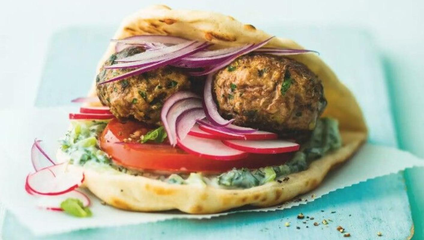 SW recipe: Skinny Greek lamb burgers with tzatziki
