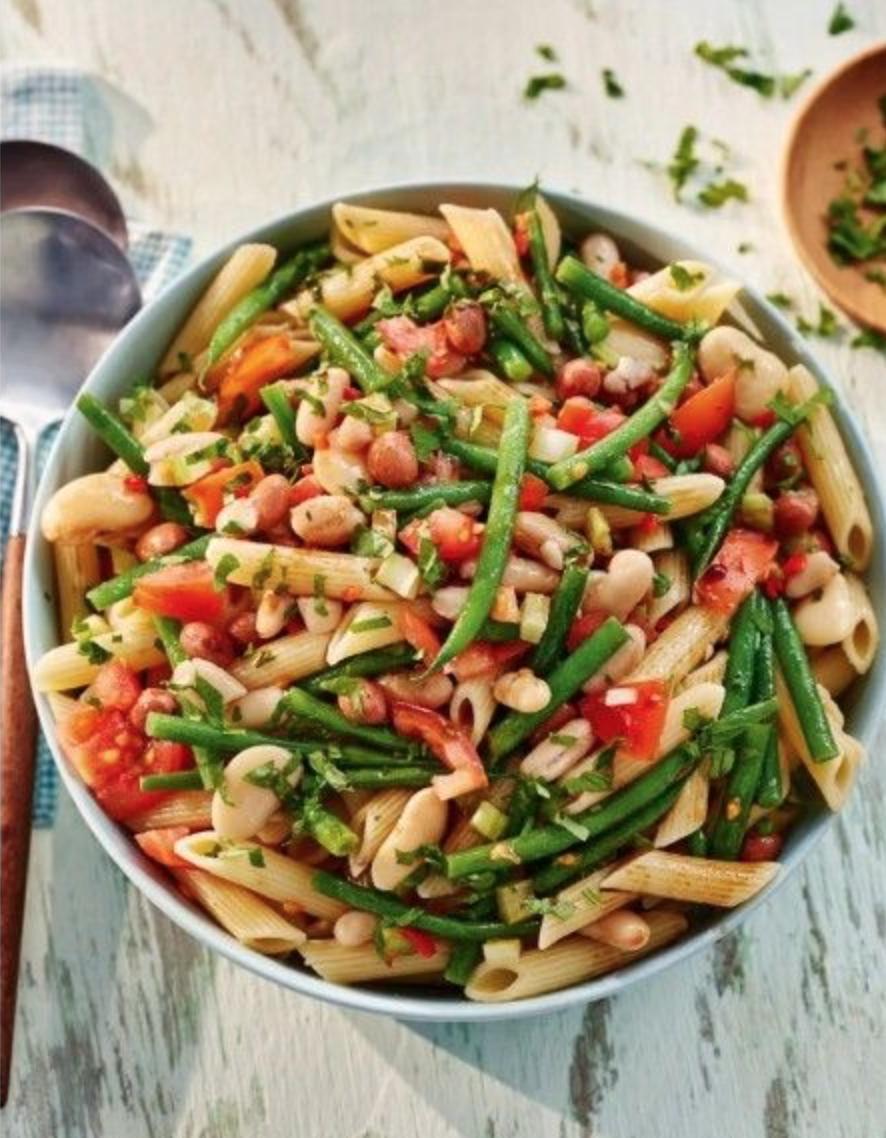 SW recipe: Beans pasta salad