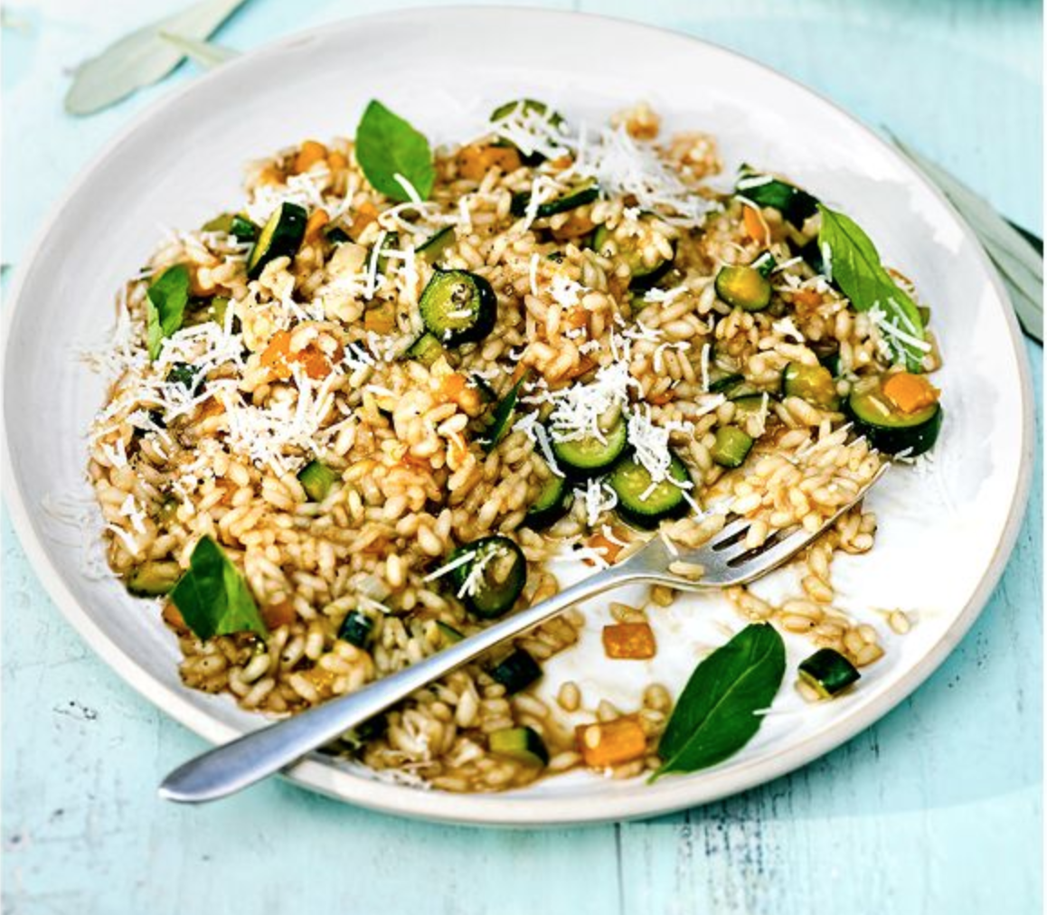 SW recipe: Courgette and lemon risotto
