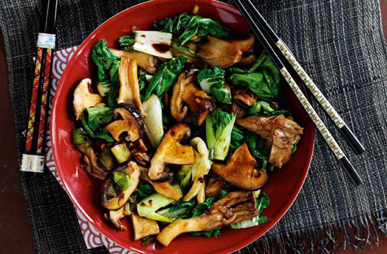 SW recipe: Oriental mushroom stir-fry