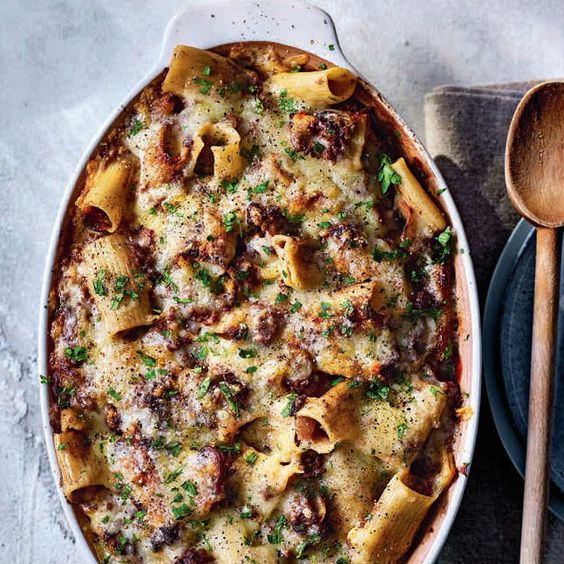 SW recipe: Beef stroganoff pasta bake
