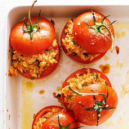 SW recipe: Provençal stuffed tomatoes
