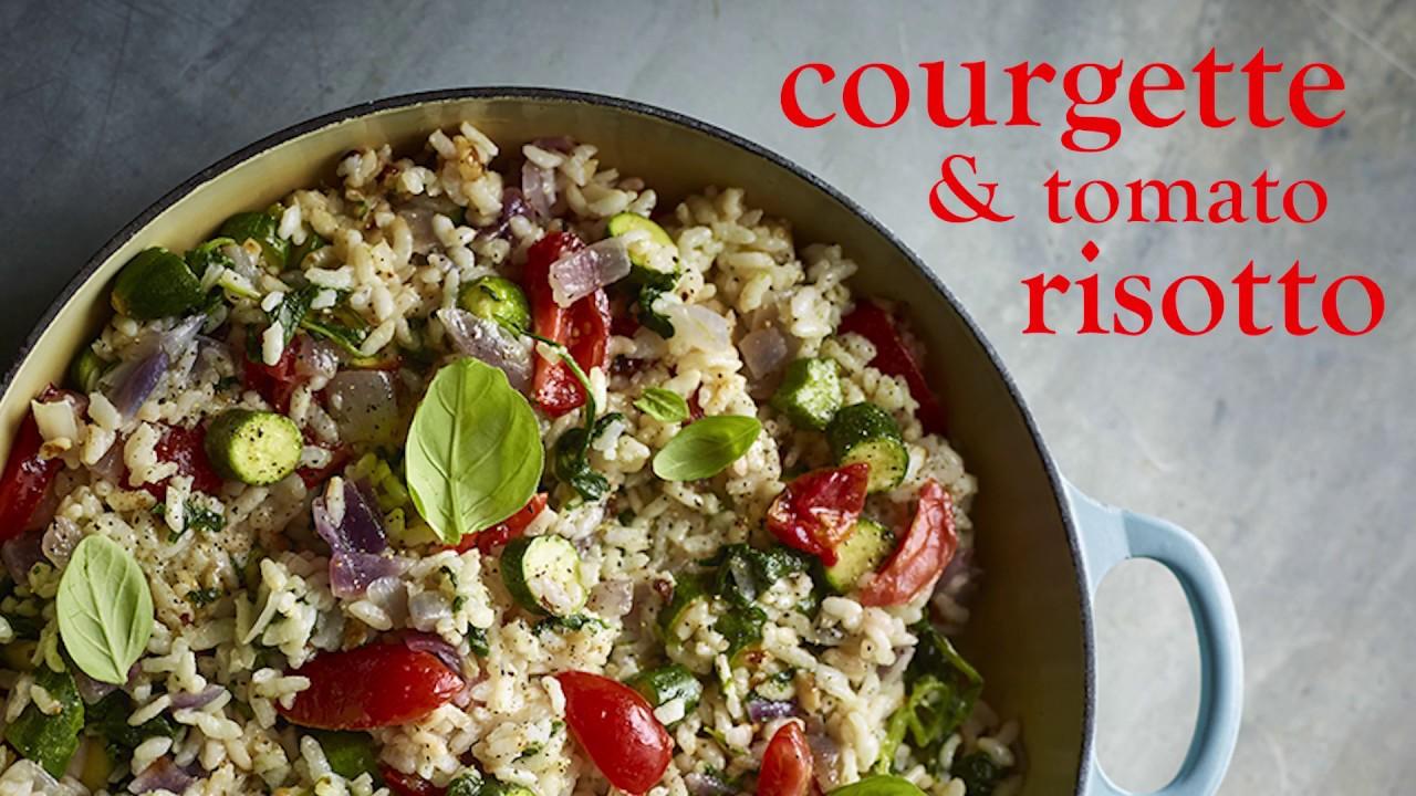 SW recipe: Courgette and tomato risotto