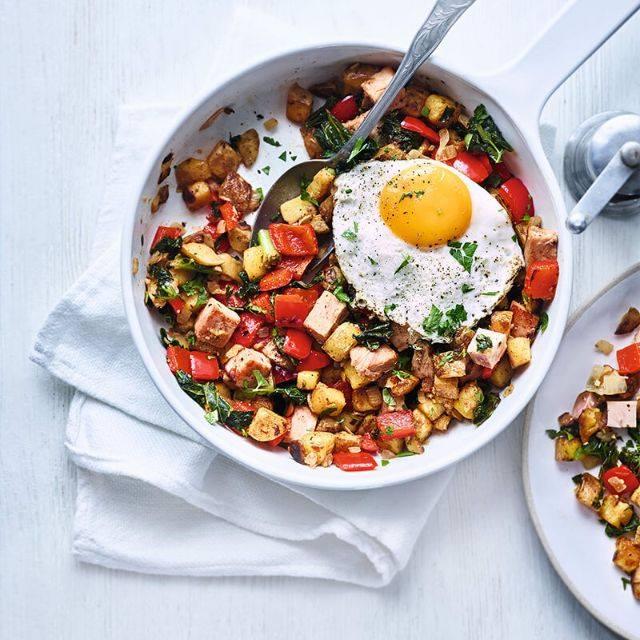 SW recipe: Ham & kale hash