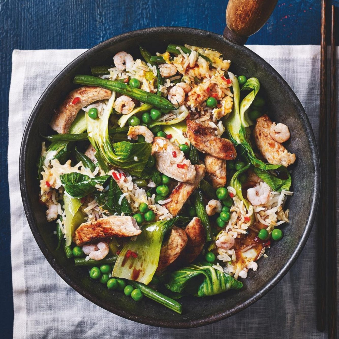SW recipe: Healthy fried rice