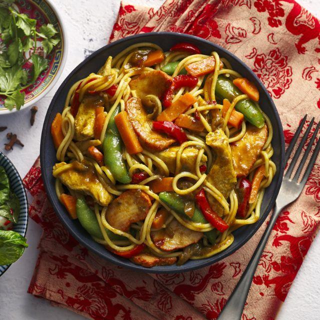 SW recipe: Singapore-style noodles