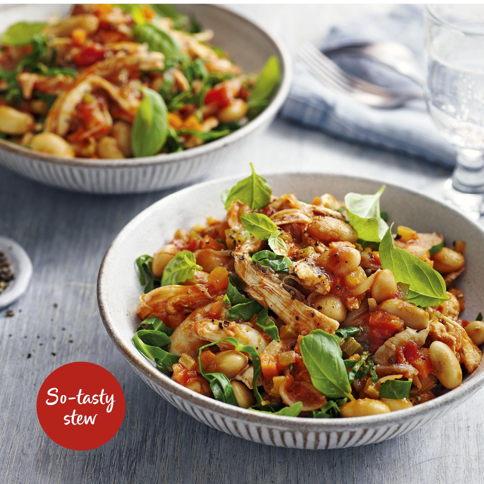 SW recipe: Italian turkey stew