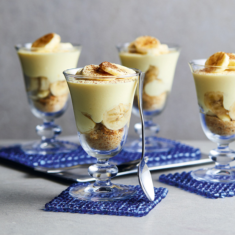 SW recipe: Banana & Irish cream cheesecakes