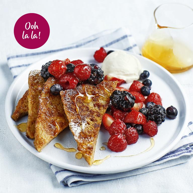 SW recipe: Fruity French toast