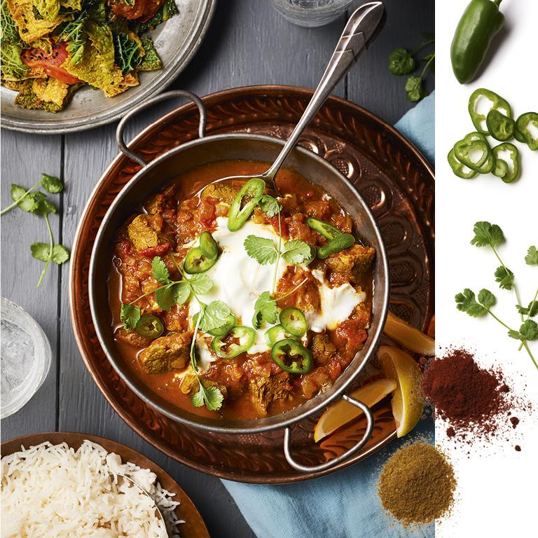 SW recipe: Prakash's lamb bhuna
