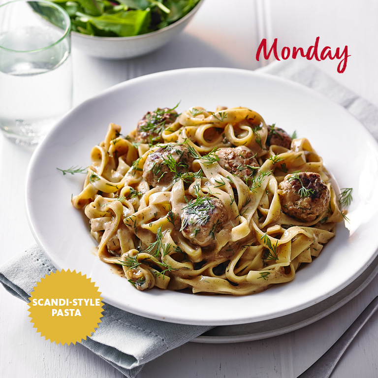 SW recipe: Swedish meatball pasta