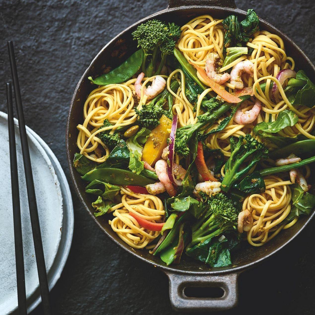 SW recipe: Prawn chow mein