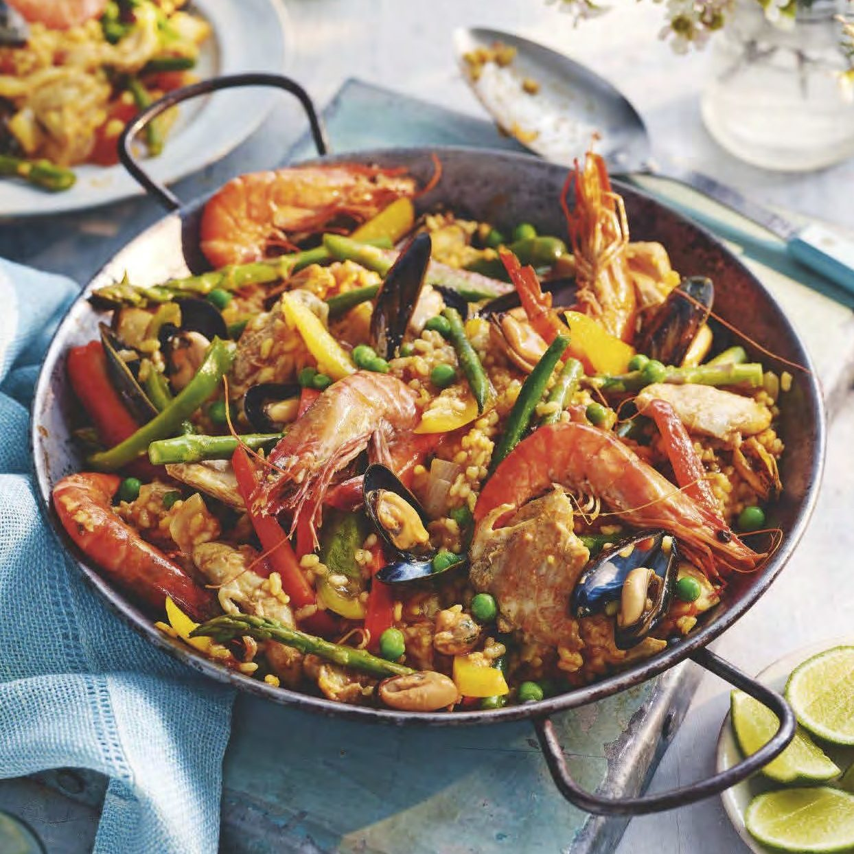 SW recipe: Seafood and chicken paella