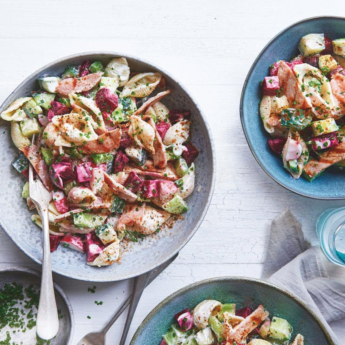 SW recipe: Bacon and pasta salad with ranch-style dressing