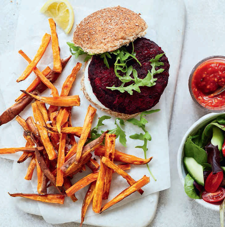 SW recipe: Beetroot and squash burgers