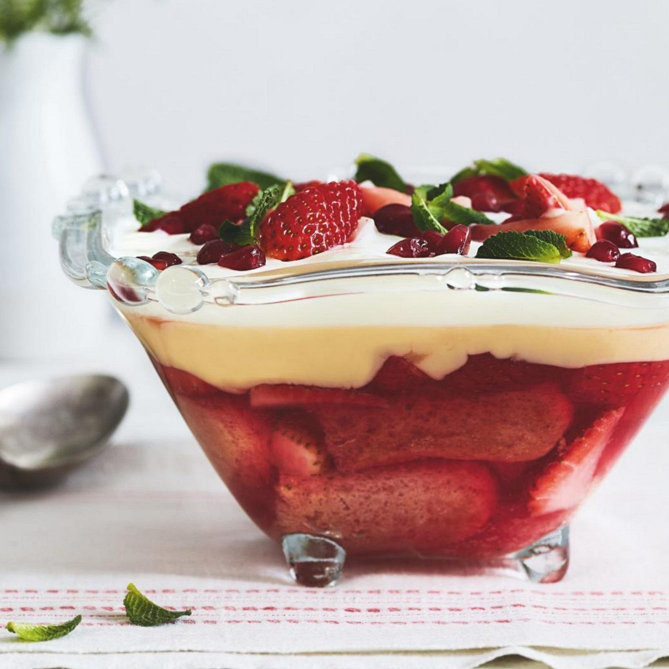 SW recipe: Strawberry and Prosecco trifle
