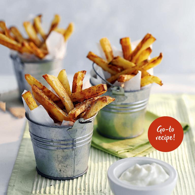 SW recipe: Skinny fries with garlic mayo