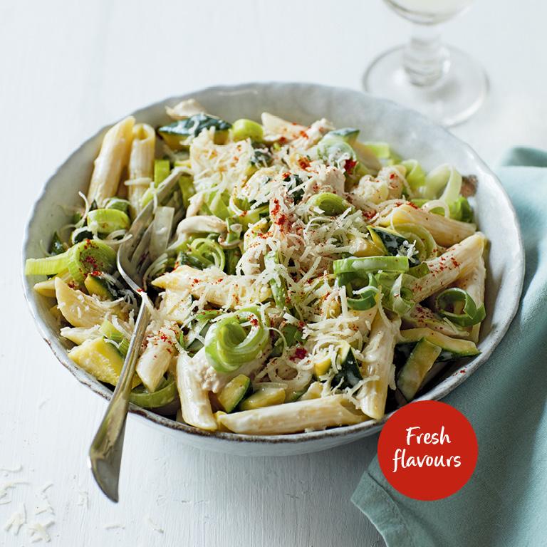 SW recipe: Chicken and leek pasta