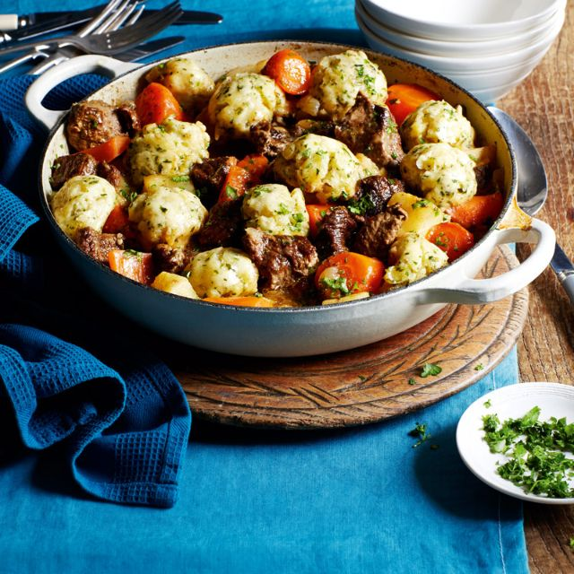 SW recipe: Irish beef stew and dumplings