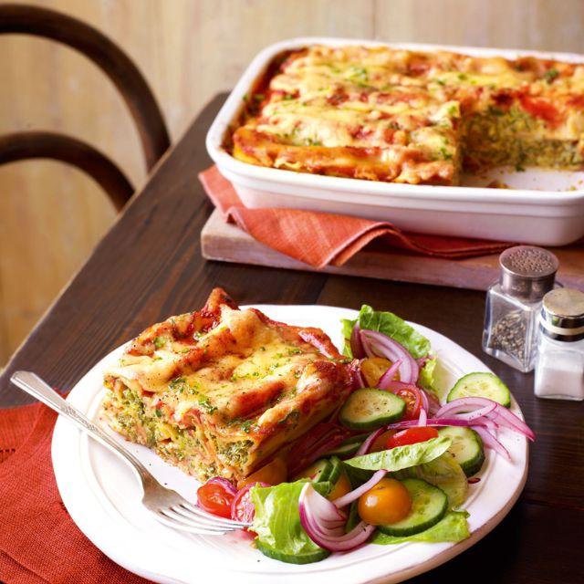 SW recipe: Spinach and butternut squash cannelloni