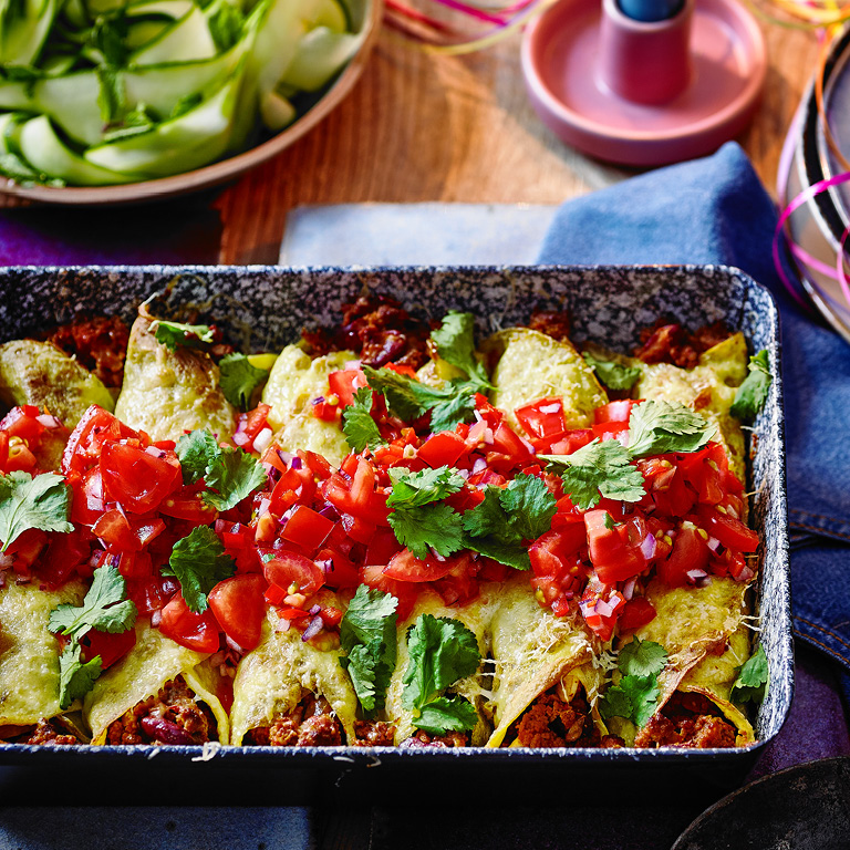 SW recipe: Veggie enchiladas