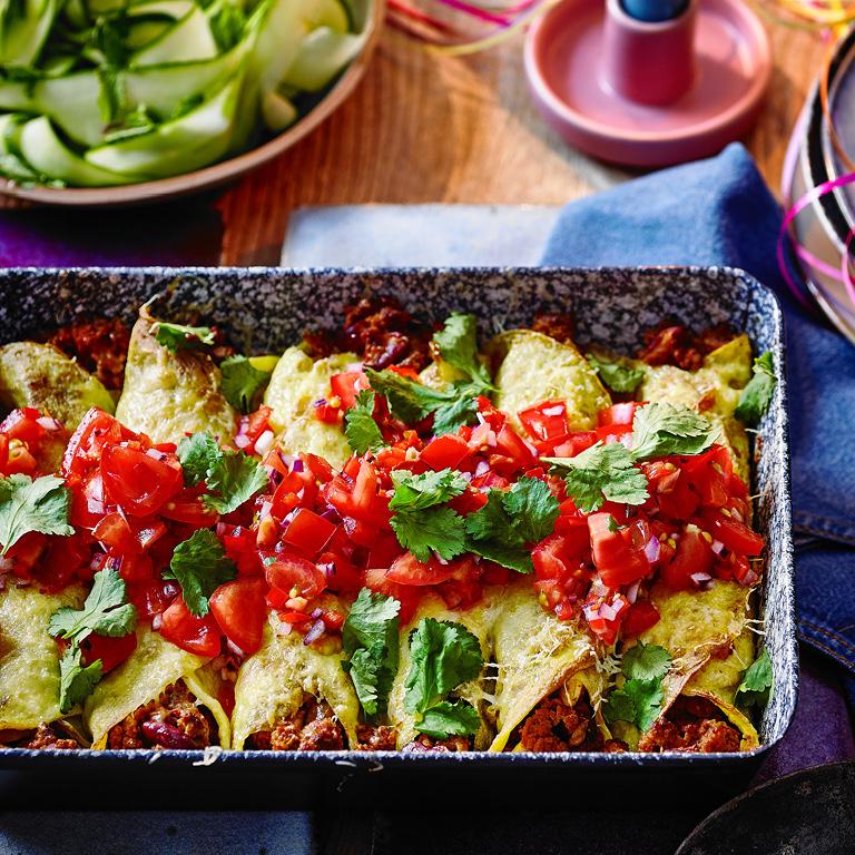 SW recipe: Veggie enchiladas