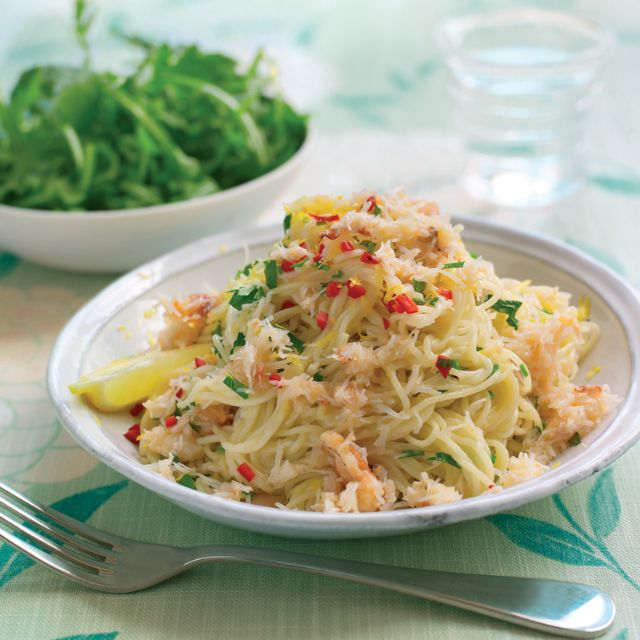 SW recipe: Angel hair pasta with crab, chilli and parsley