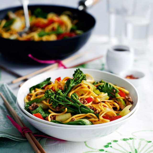 SW recipe: Five-spice beef with noodles